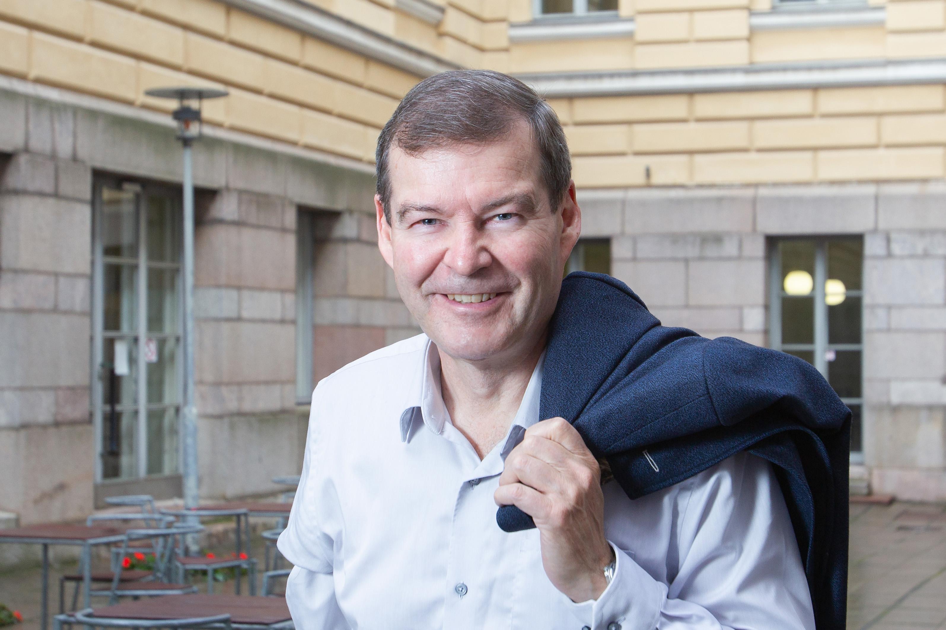 Helsingin yliopiston rehtori. professori Jari Niemelä (Kuva: Linda Tammisto)